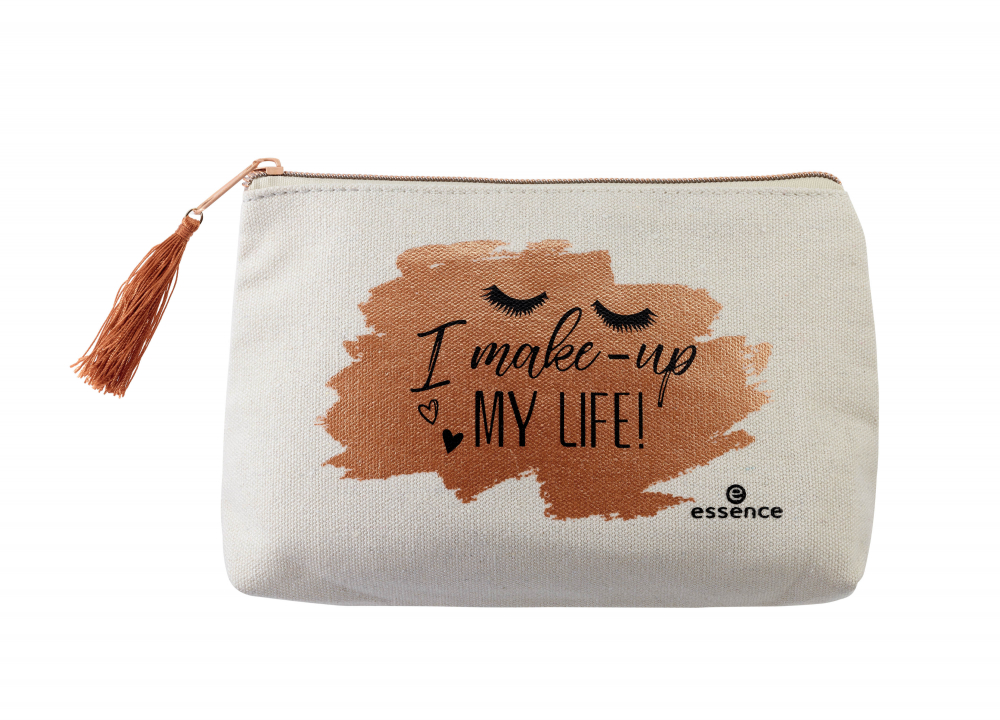 essence prazna torbica za ličila - Makeup Bag - I Make-up My Life!
