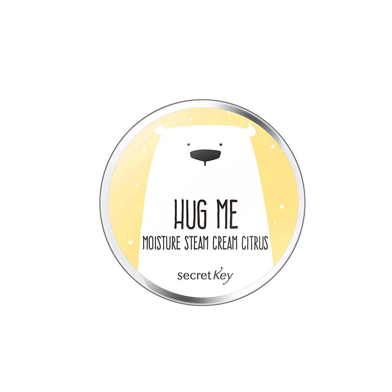 Secret Key Hug Me Moisture Steam Cream - Citrus