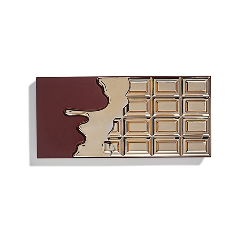 I Heart Revolution paleta očních stínů - Chocolate Eyeshadow Palette - 24k Gold