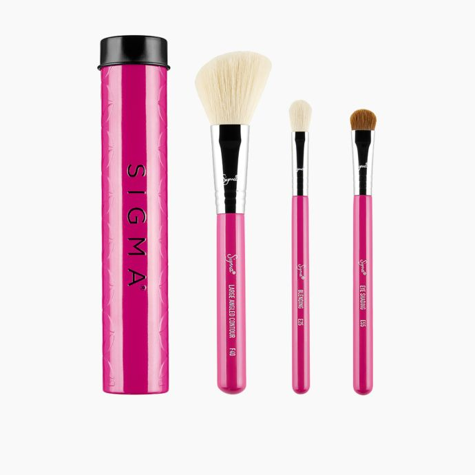 Sigma Pinselset - Essential Trio Brush Set - Pink