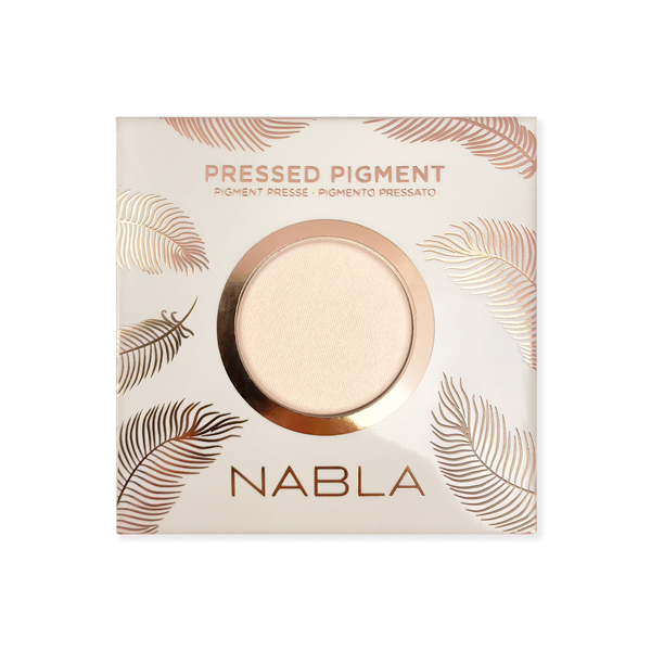 Nabla enojno senčilo - Pressed Pigment Feather Edition - Coconut Milk