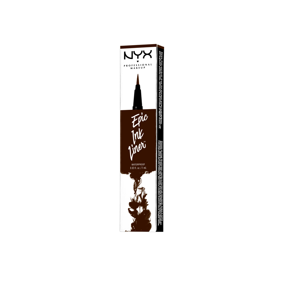 NYX Professional Makeup eyeliner - Epic Ink Liner - Brown (EIL02)