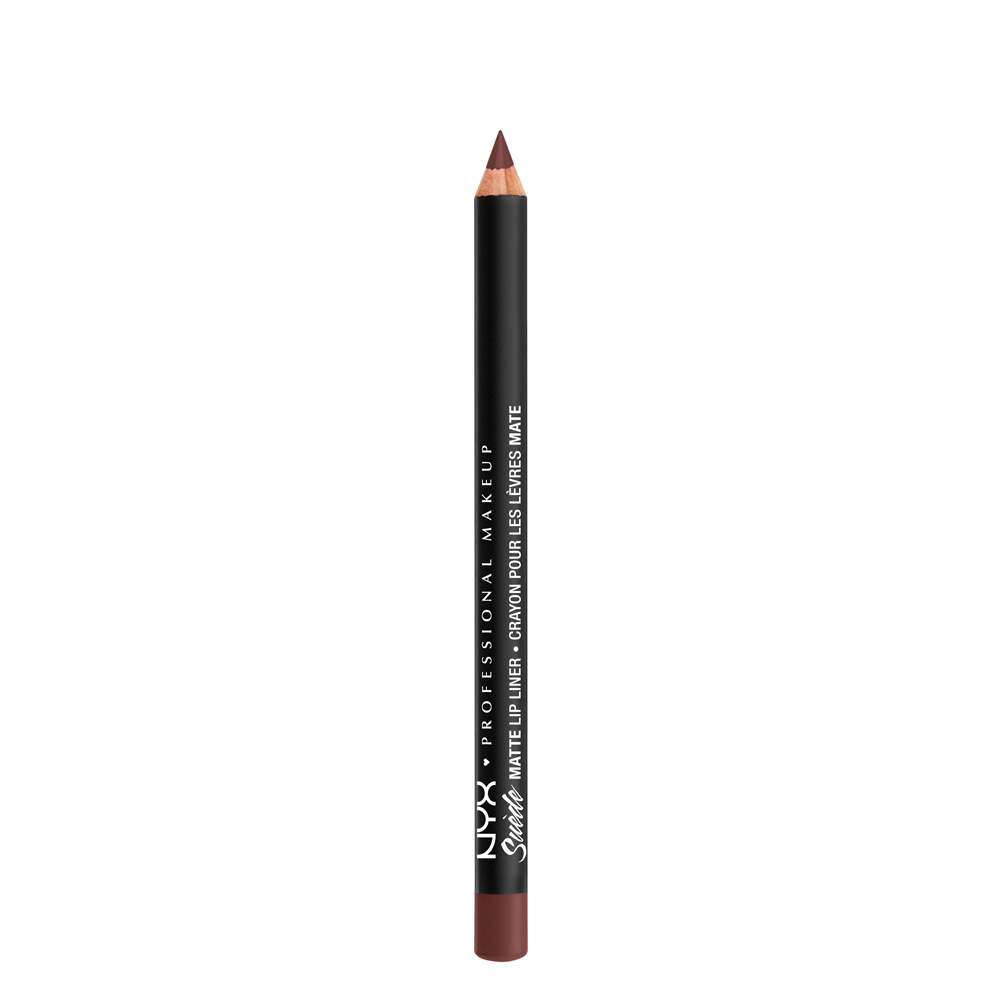 NYX Professional Makeup ceruzka na pery - Suede Matte Lipliner - Cold Brew (SMLL55)
