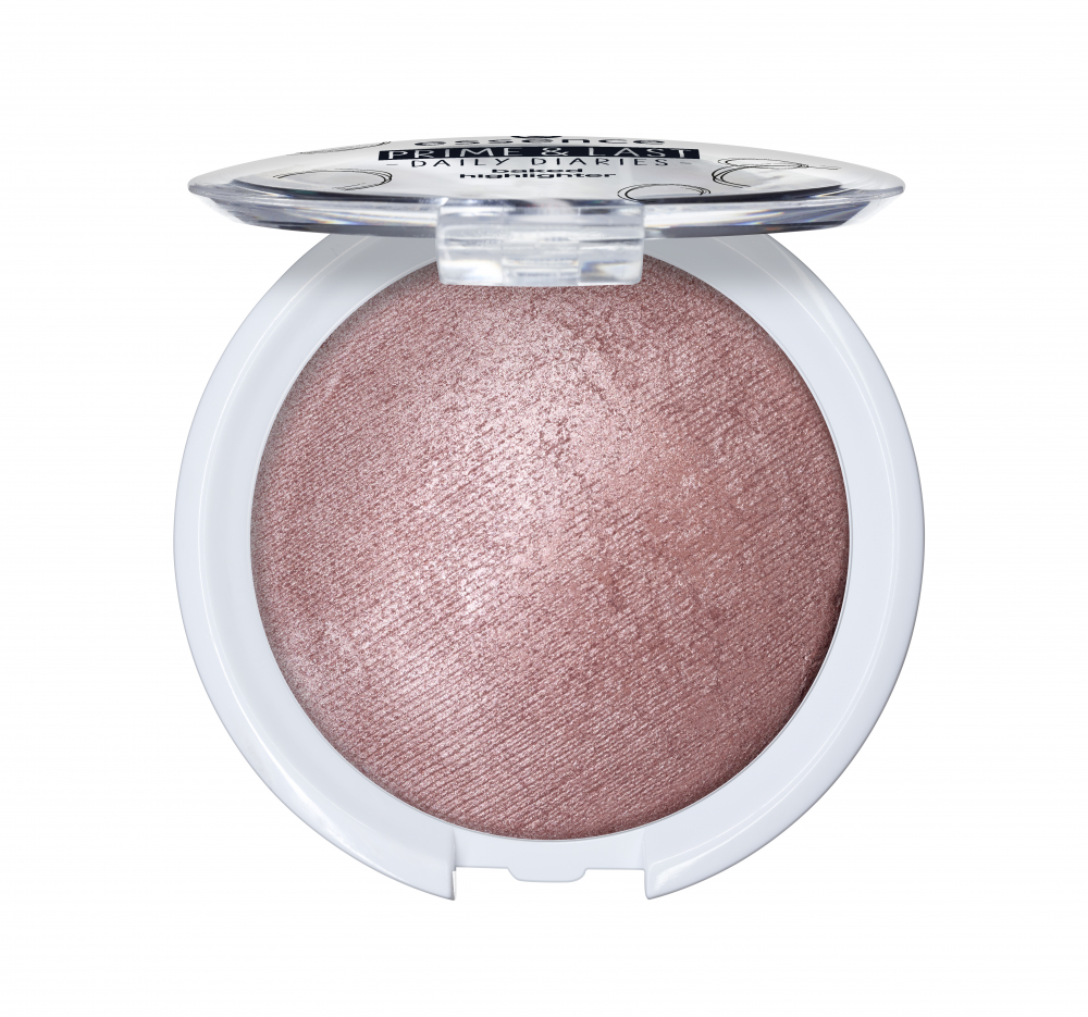 essence osvetljevalec - Prime & Last Daily Diaries Limited Edition - Baked Highlighter - 01 It's Time To Shine