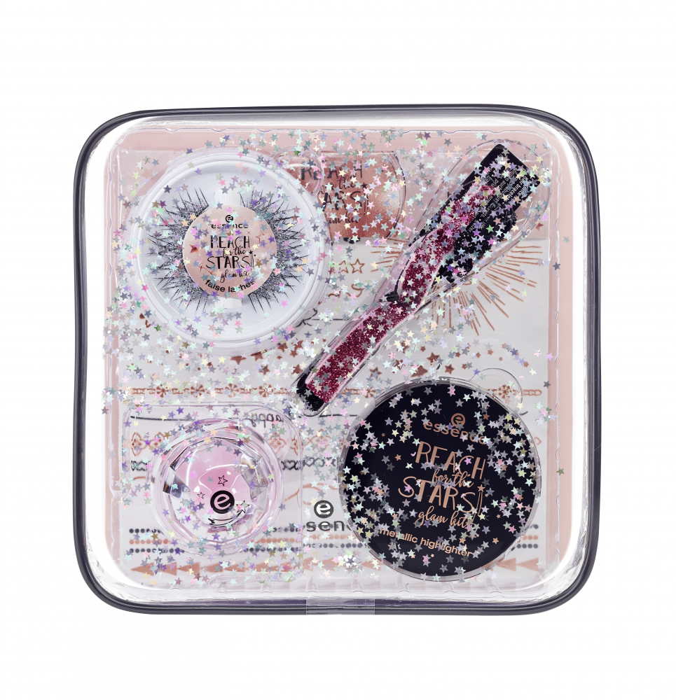 essence trblietavý set pomôcok - Reach For The Stars - Glam Kit Limited Edition