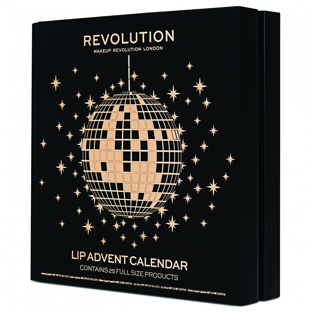 Revolution calendario dell'Avvento dei rossetti - Lip Advent Calendar