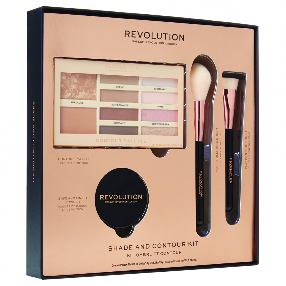 Revolution Makeup-Set - Shade And Contour Kit