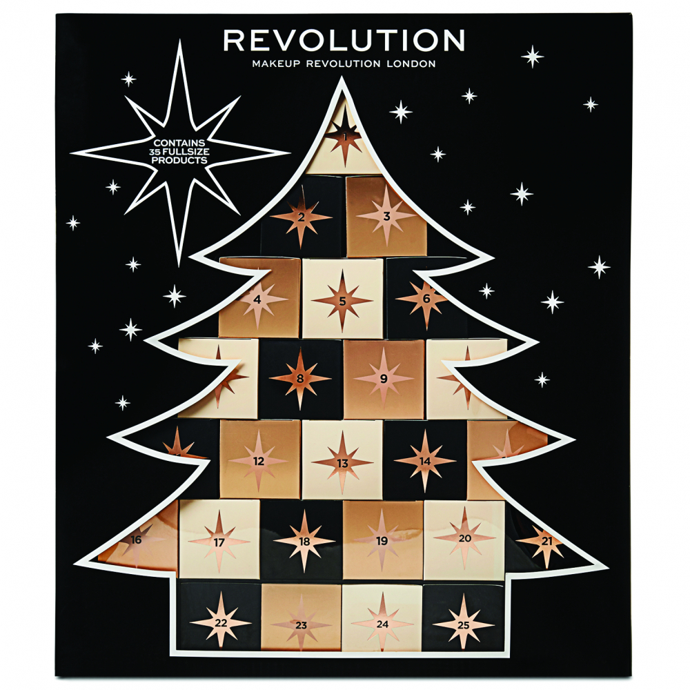 Revolution Christmas Tree Calendar adventi kalendárium