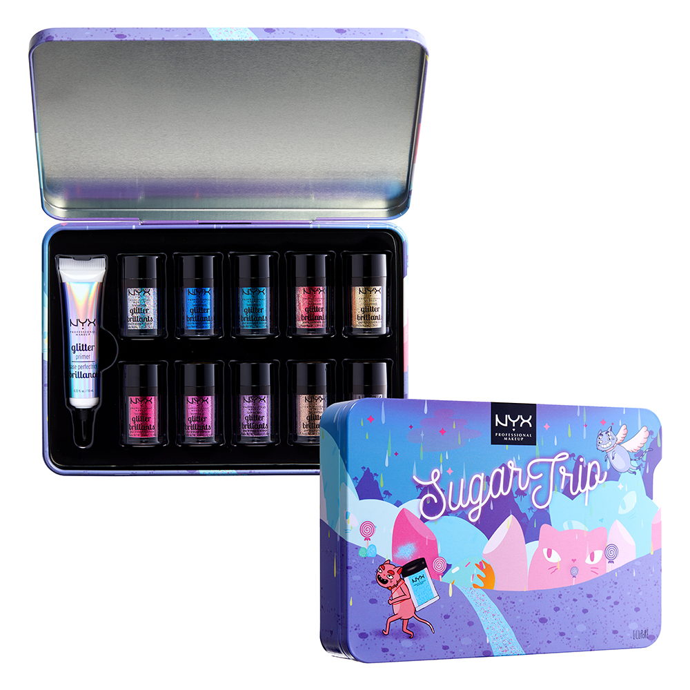 NYX Professional Makeup kit glitter - Sugar Trip - Glitter Vault Limited Edition
