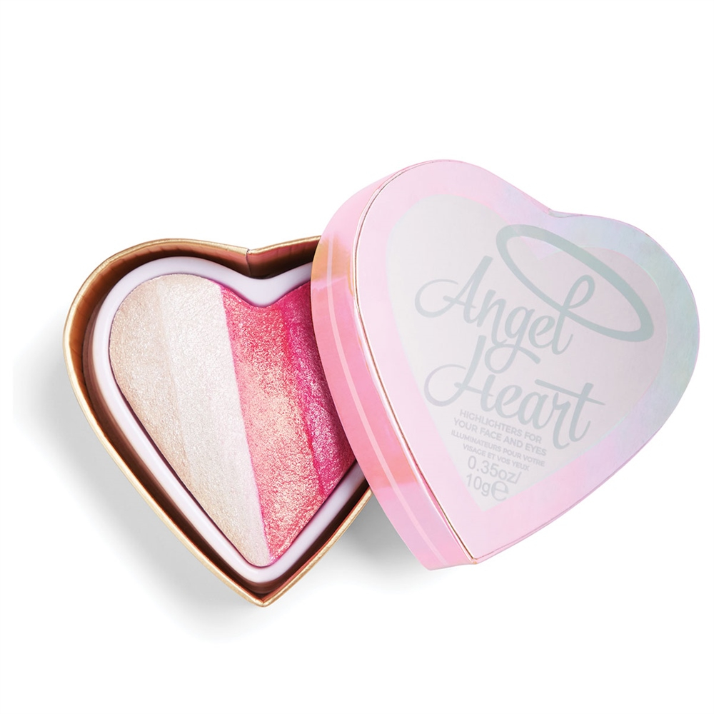 I Heart Revolution kompaktni osvetljevalec - Baked Highlighter - Angel Heart