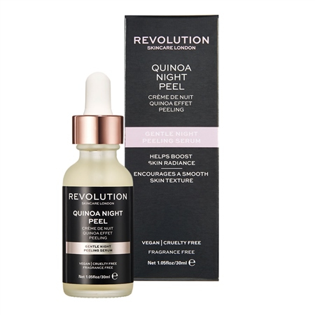 Revolution Skincare нежен нощен серум за лице - Gentle Quinoa Night Peel Serum