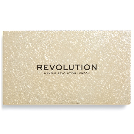 Revolution paletka očních stínů - Jewel Collection Eyeshadow Palette - Gilded
