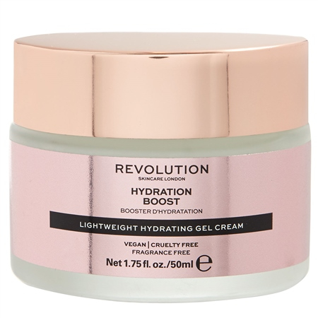 Revolution Skin pleťový krém - Lightweight Hydrating Gel-Cream – Hydration Boost