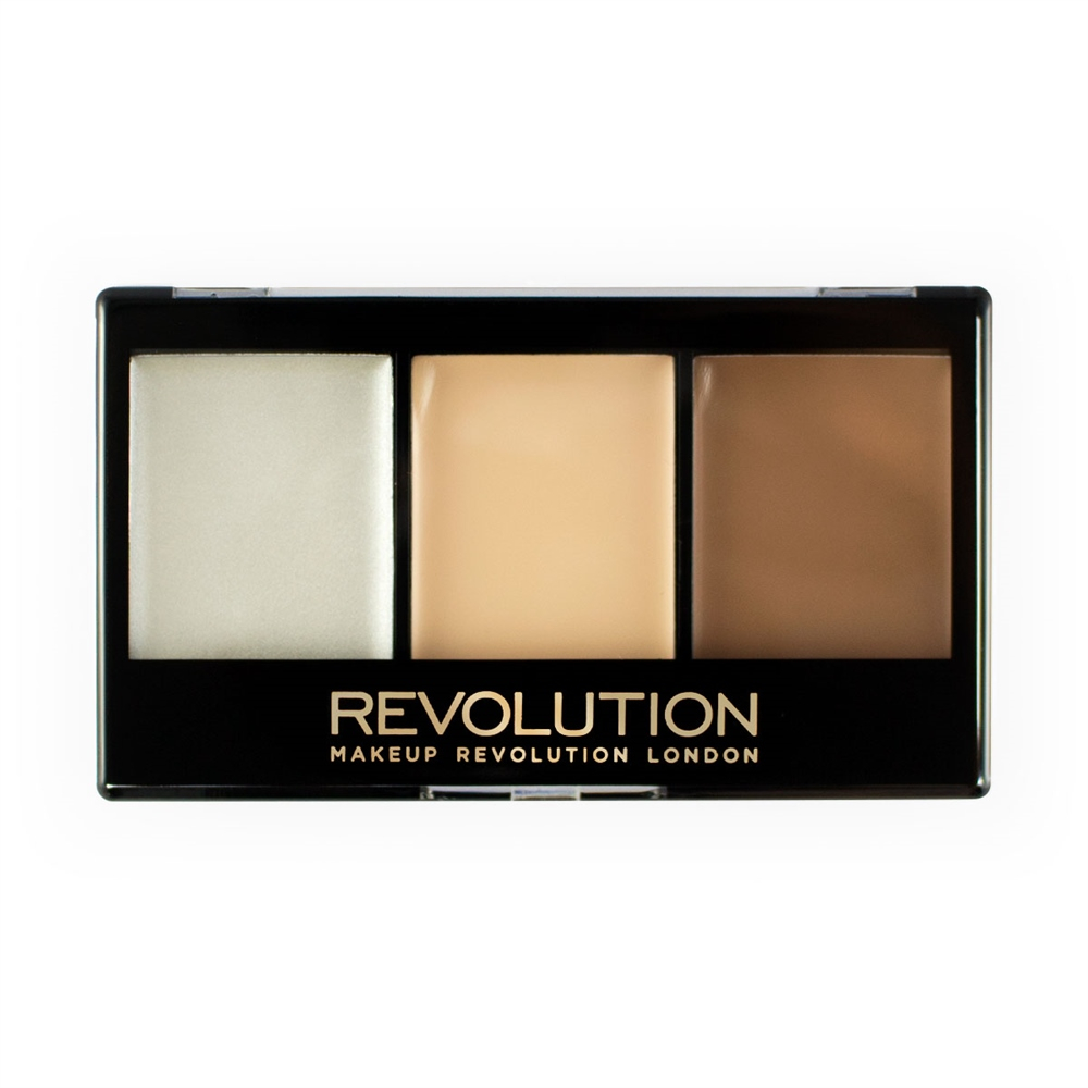 Revolution Ultra Cream Contour Kit krém kontúr paletta - Lightening Contour F01