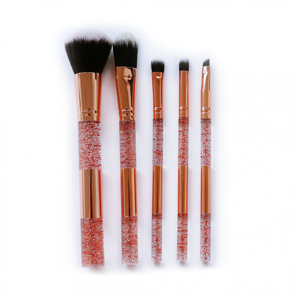 Mayani Design sada štetcov - Gold Glitter Brush Set
