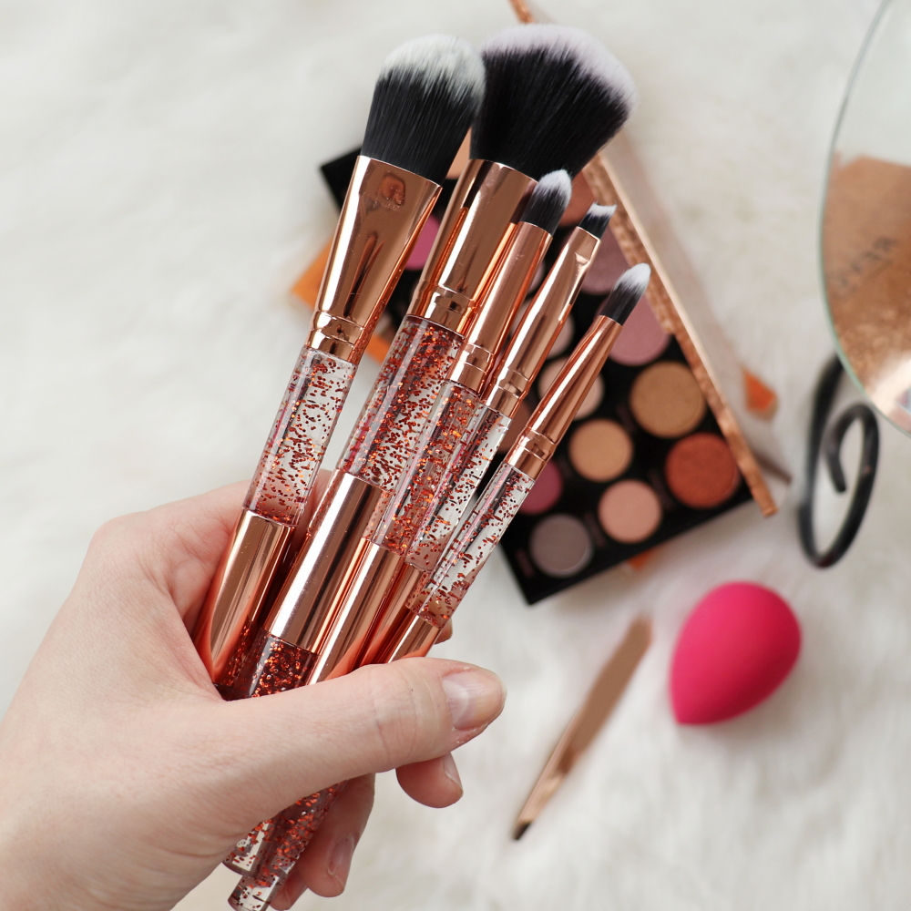 Mayani Design Pinselset - Gold Glitter Brush Set