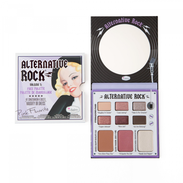 The Balm paleta za lice - Alternative Rock Face Palette - Vol.1