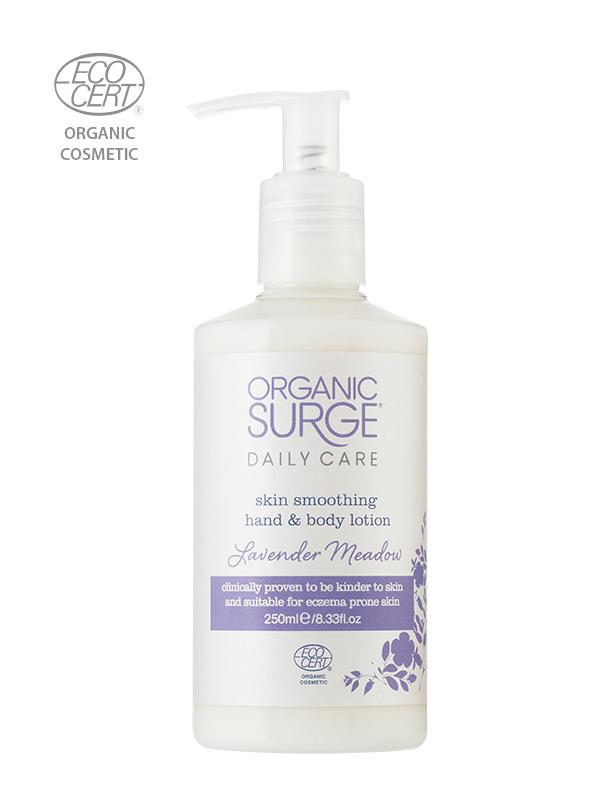 Organic Surge lotiune de maini & corp - Hand & Body Lotion - Lavender Meadow 250ml