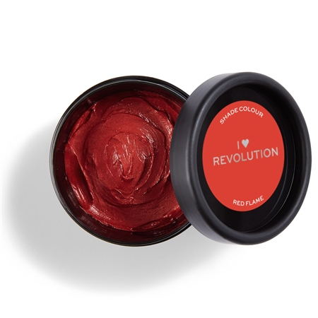 I Heart Revolution sofortige Haarfarbe - Rainbow Paste Red Flame