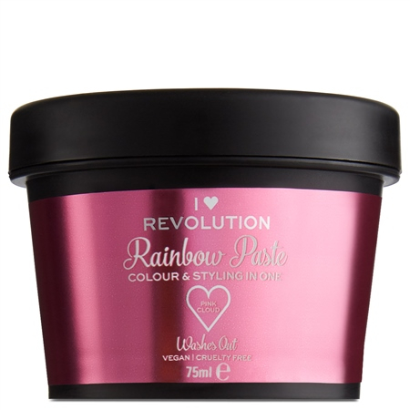 I Heart Revolution farebná pasta na vlasy - Rainbow Paste Pink Cloud