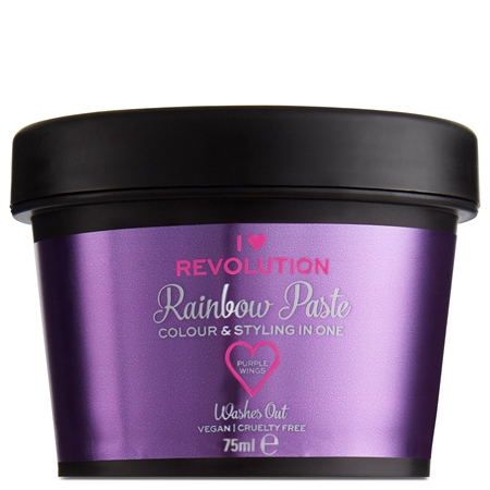 I Heart Revolution instant barva za lase - Rainbow Paste Purple Wings