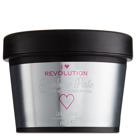 I Heart Revolution instant barva za lase - Rainbow Paste Silver Angel