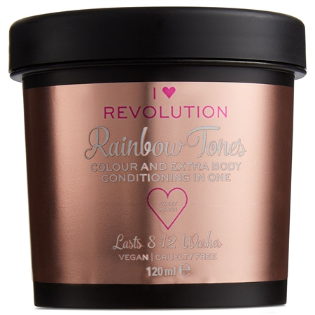 I Heart Revolution vopsea de par semi-permanenta - Rainbow Tones Sweet Peach