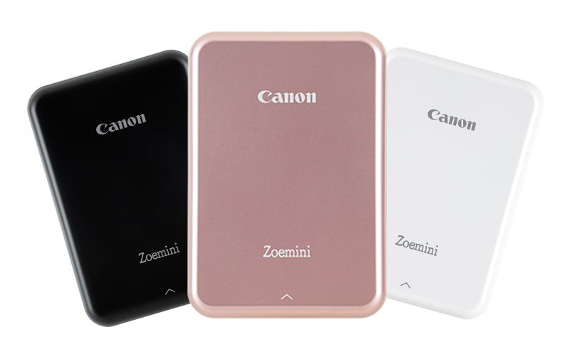 Canon žepni tiskalnik - Zoemini Pocket Printer - Rose Gold/White Chic