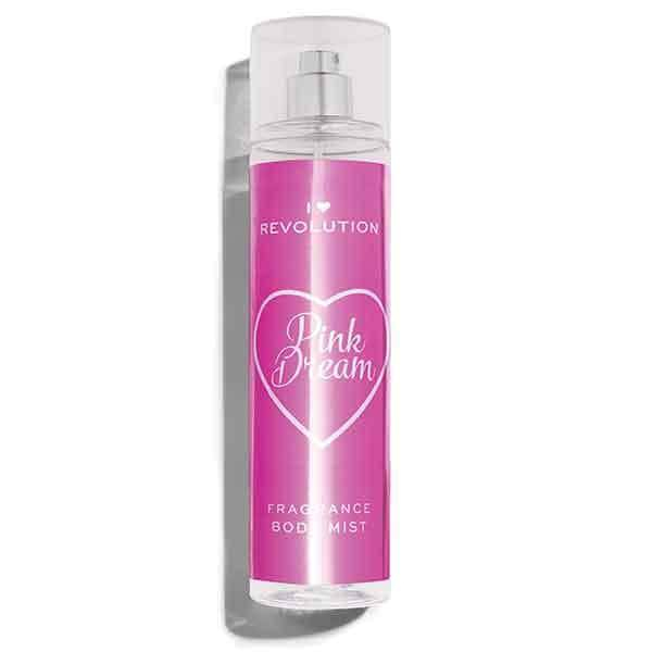 I Heart Revolution telový sprej- Pink Dream Body Mist