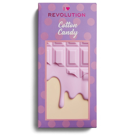 I Heart Revolution paletka očních stínů - Chocolate Eyeshadow Palette - Cotton Candy