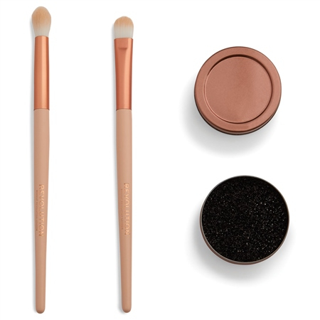 Revolution sada štetcov - Conceal & Define Brush Set With Switching Sponge