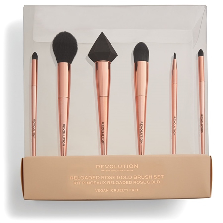 Revolution sada štetcov - Reloaded Rose Gold Brush Set