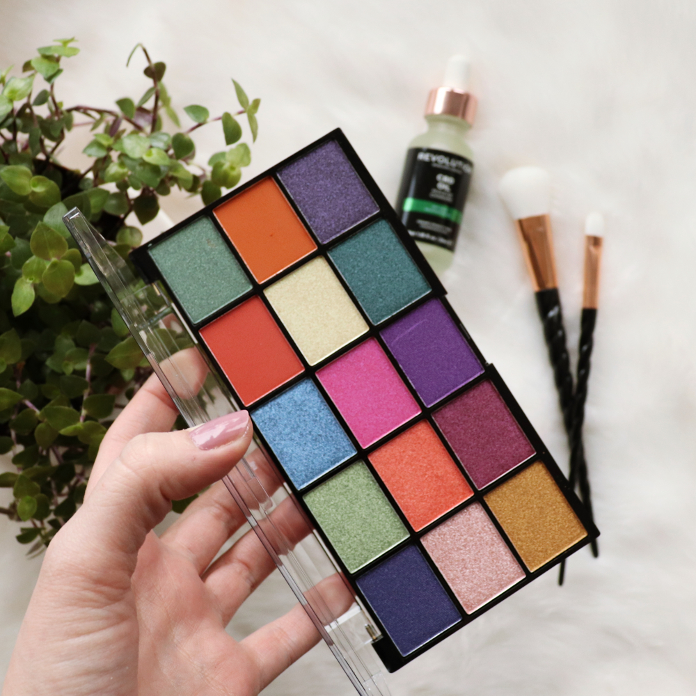 Revolution paleta de farduri - Re-Loaded Palette - Passion For Colour