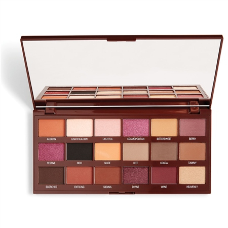 I Heart Revolution paleta sjenila- Cranberries & Chocolate Eyeshadow Palette