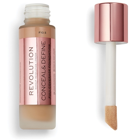 Revolution фон-дьо-тен - Conceal & Define Full Coverage Foundation - F10.5