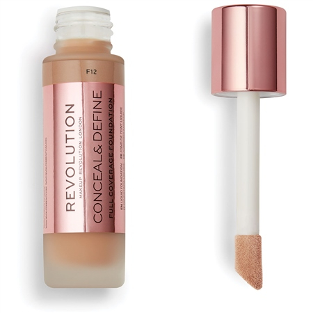 Revolution фон-дьо-тен - Conceal & Define Full Coverage Foundation - F12