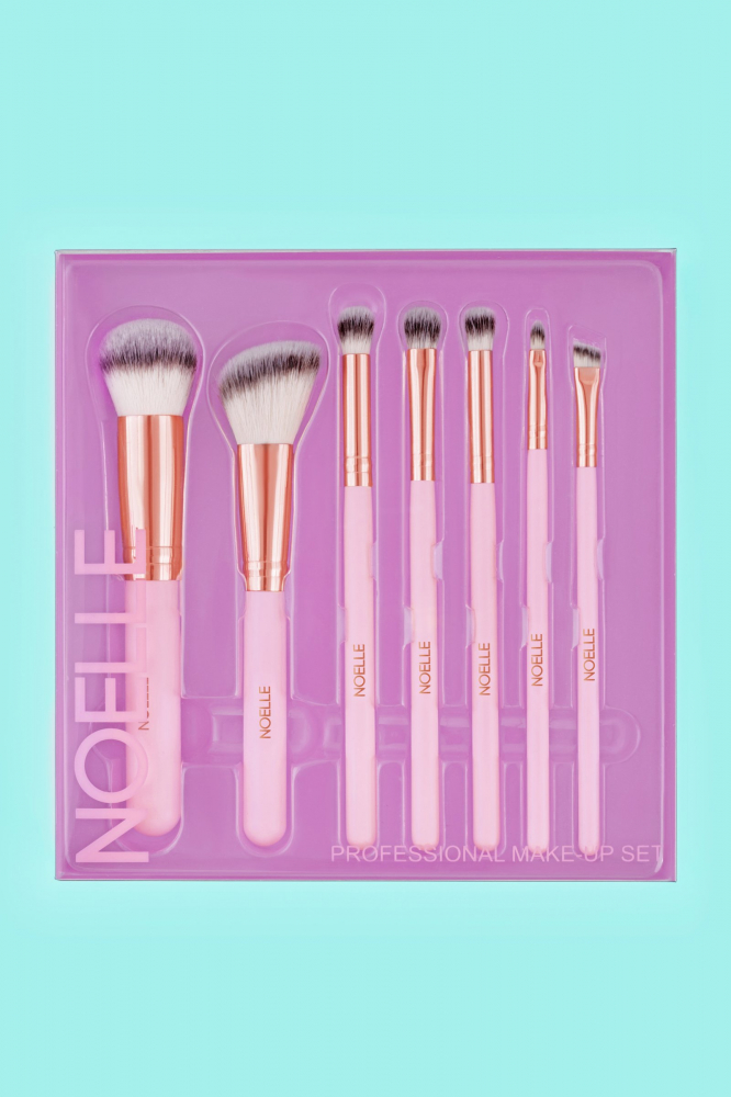 Noelle Brush sada štetců  - Brush Set Rose Gold - 7/1