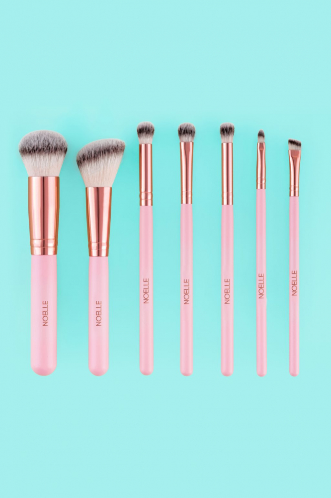 Noelle Brush sada štetcov - Brush Set Rose Gold - 7/1