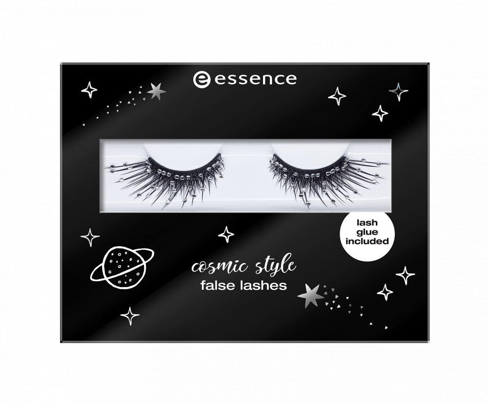 essence umetne trepalnice - Come On Baby, Let's Go Party! - Cosmic Style False Lashes - 01 To The Moon & Back!