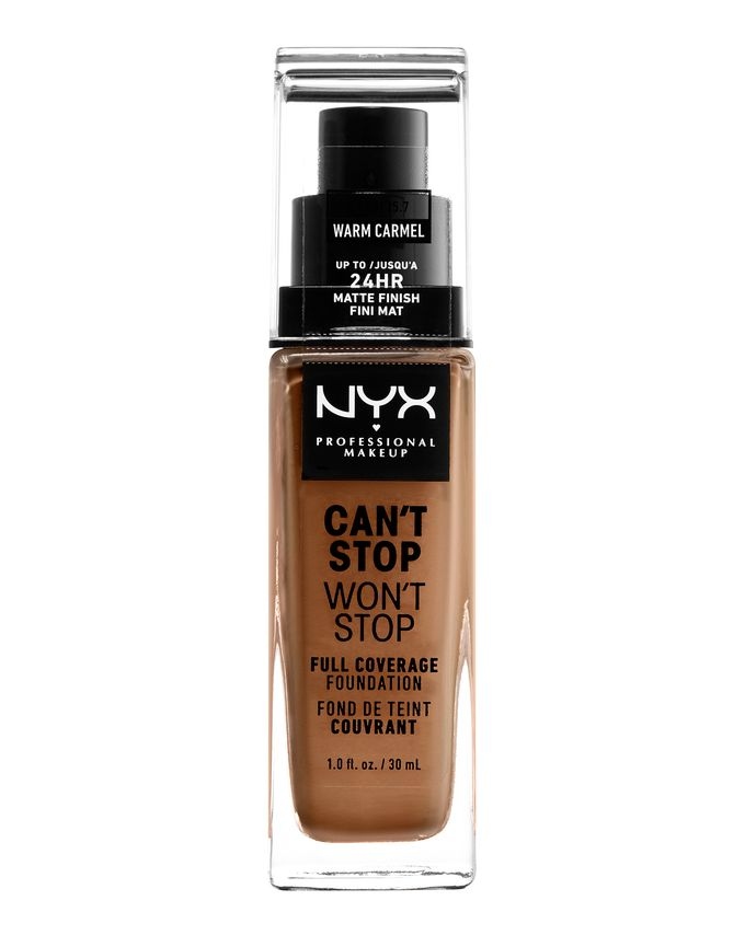 NYX Professional Makeup фон-дьо-тен - Can't Stop Won't Stop Full Coverage Foundation - Warm Carmel