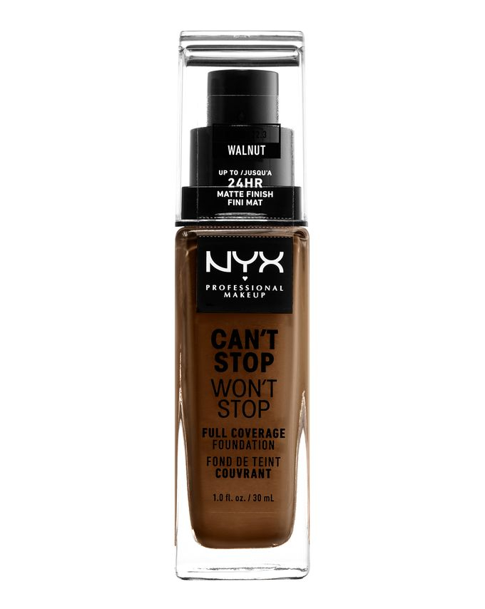 NYX Professional Makeup фон-дьо-тен - Can't Stop Won't Stop Full Coverage Foundation - Walnut