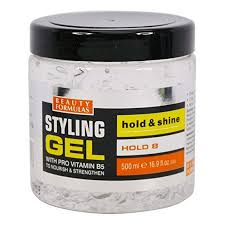 Beauty Formulas gel za kosu- Styling Gel - Hold + Shine