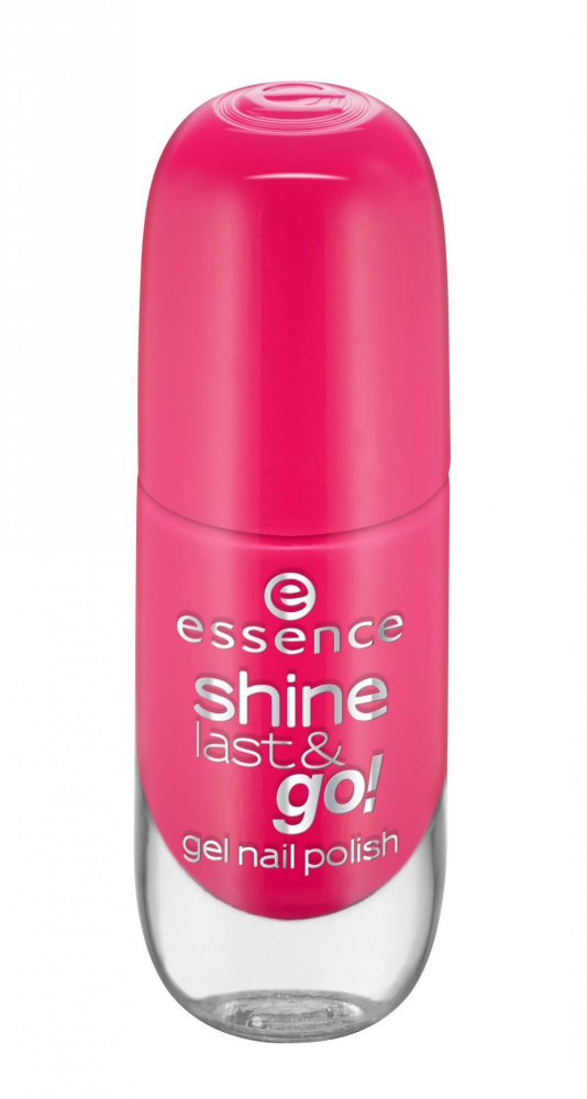 essence lak na nechty - Shine Last & Go! Gel Nail Polish - 13 Legally Pink