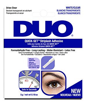 DUO Wimpernkleber - DUO Quick-Set Adhesive Clear (67583)