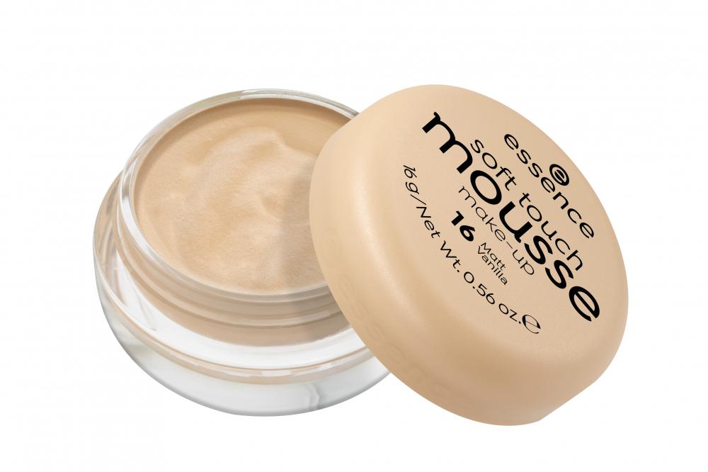 essence Soft Touch Mousse Make-up hab állagú alapozó - 16 - PINK PANDA
