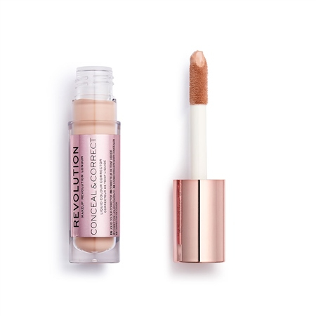 Revolution korektor - Conceal And Correct Concealer - Peach