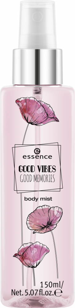 essence meglica za telo - Good Vibes Good Memories Body Mist - 01 Spring Is In The Air