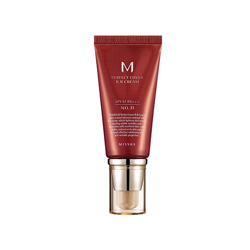 MISSHA BB krém - M Perfect Cover BB Cream SPF42/PA+++ - No.31 Golden Beige (50ml)