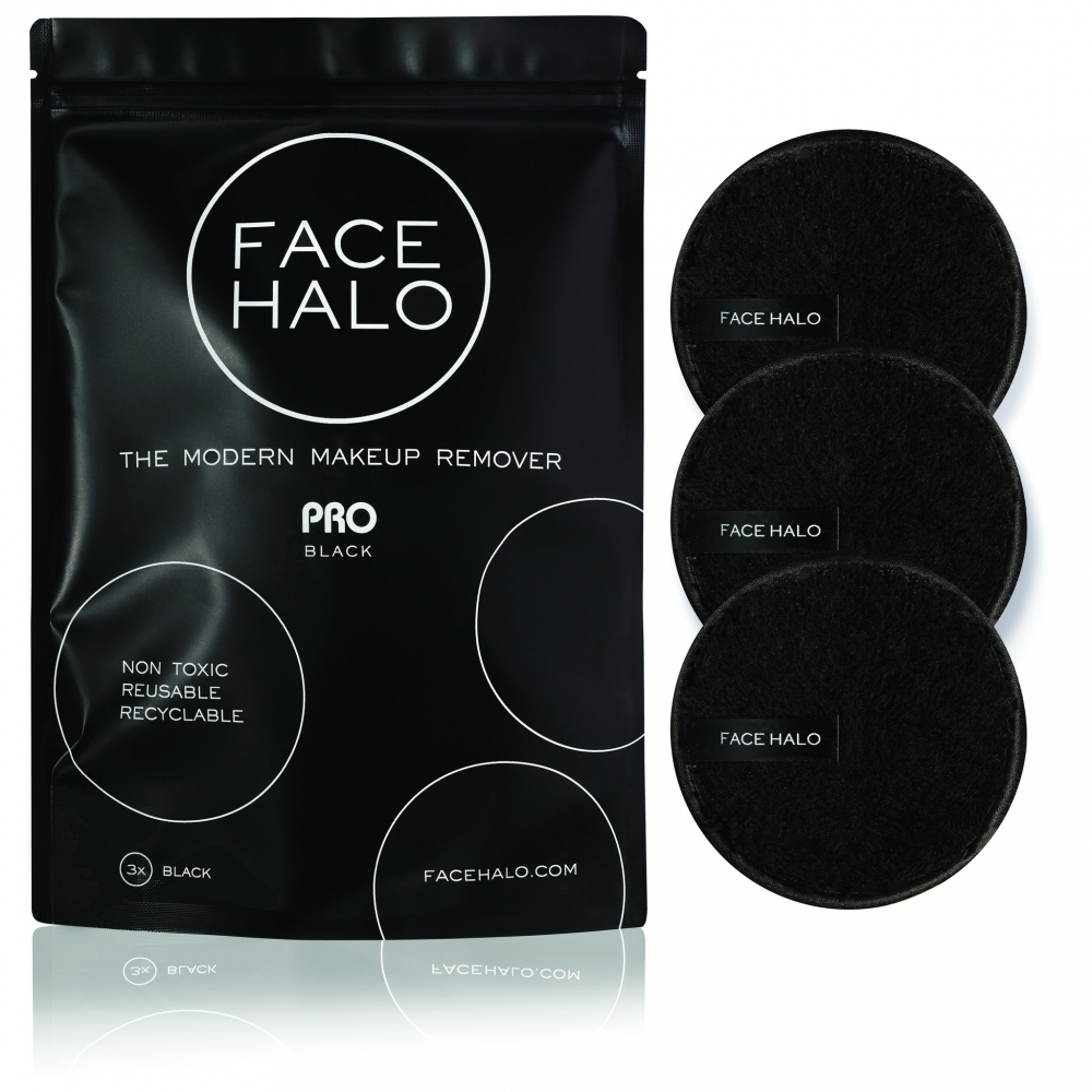 Face Halo blazinice za odstranjivanje makeupa - The Modern Makeup Remover -  PRO Black
