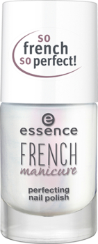 essence lak za nohte - French Manicure Perfecting Nail Polish - 01 Let's Be FRENCHs
